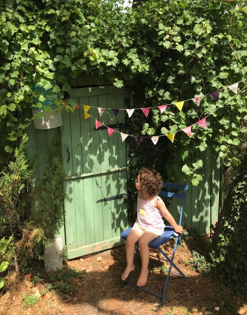 Un été, une cabane au fond du jardin...