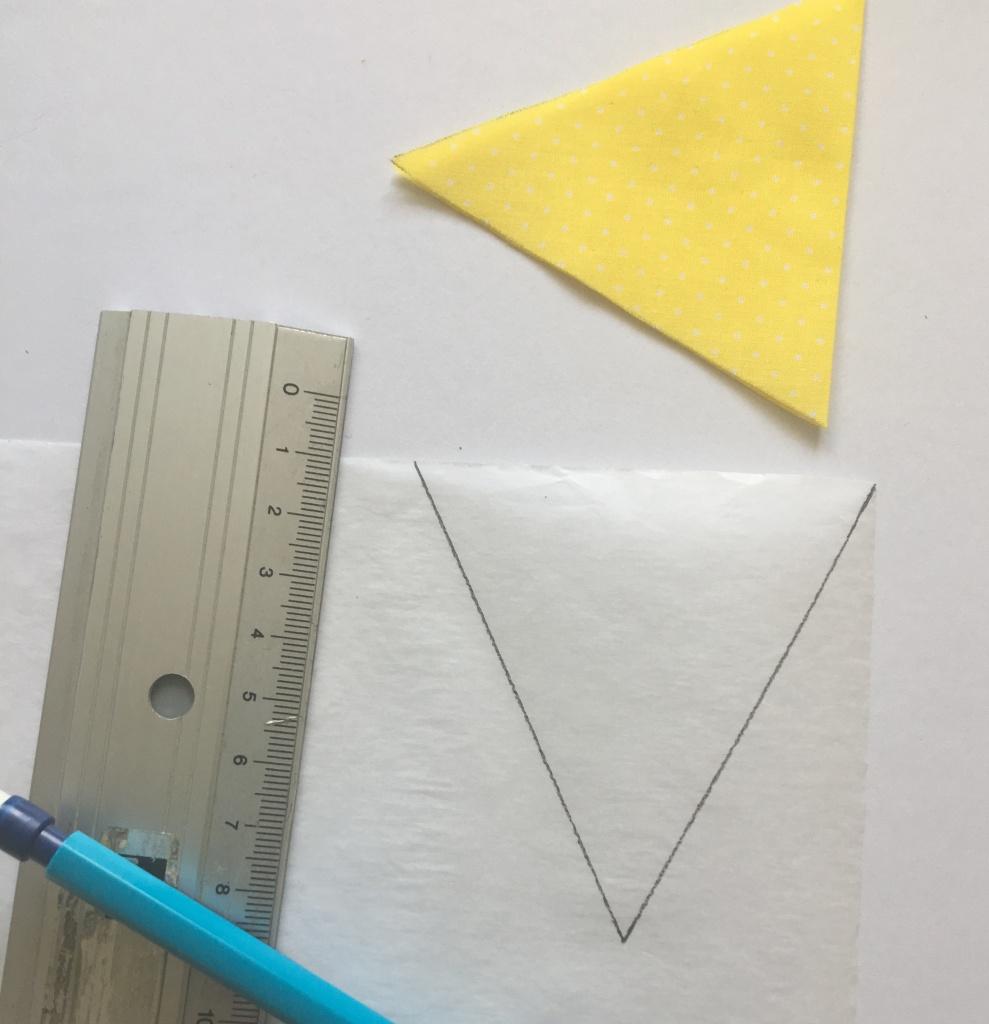 Triangle de thermocollant