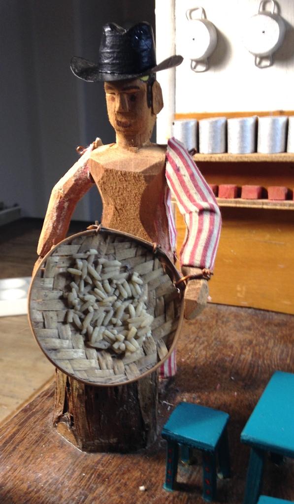 Mexicain en cours de déshabillage