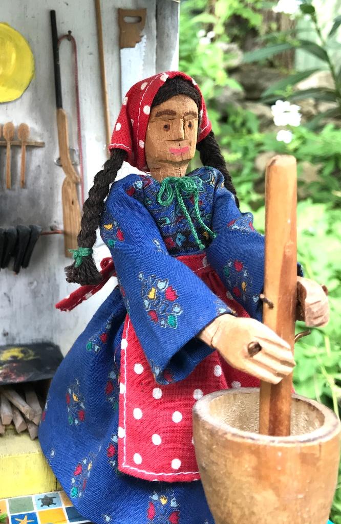 La Mexicaine habillée de neuf