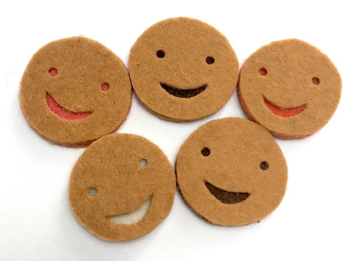 Biscuits assemblés