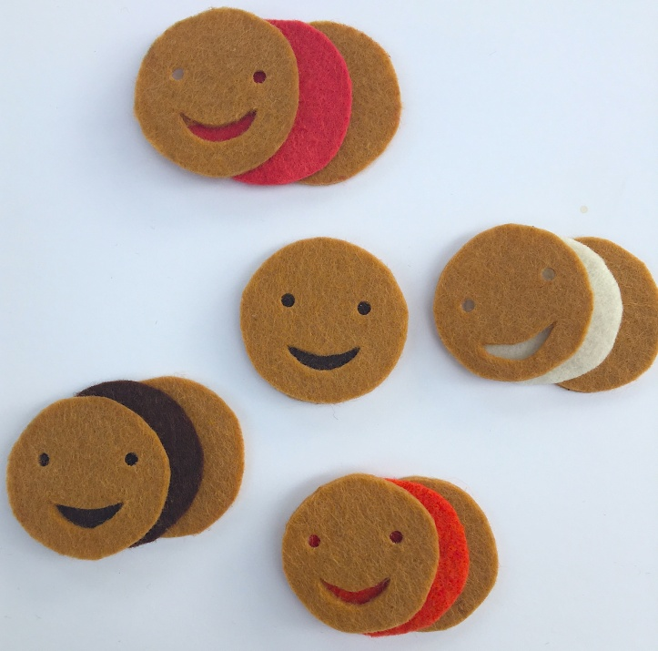 Découpage des biscuits