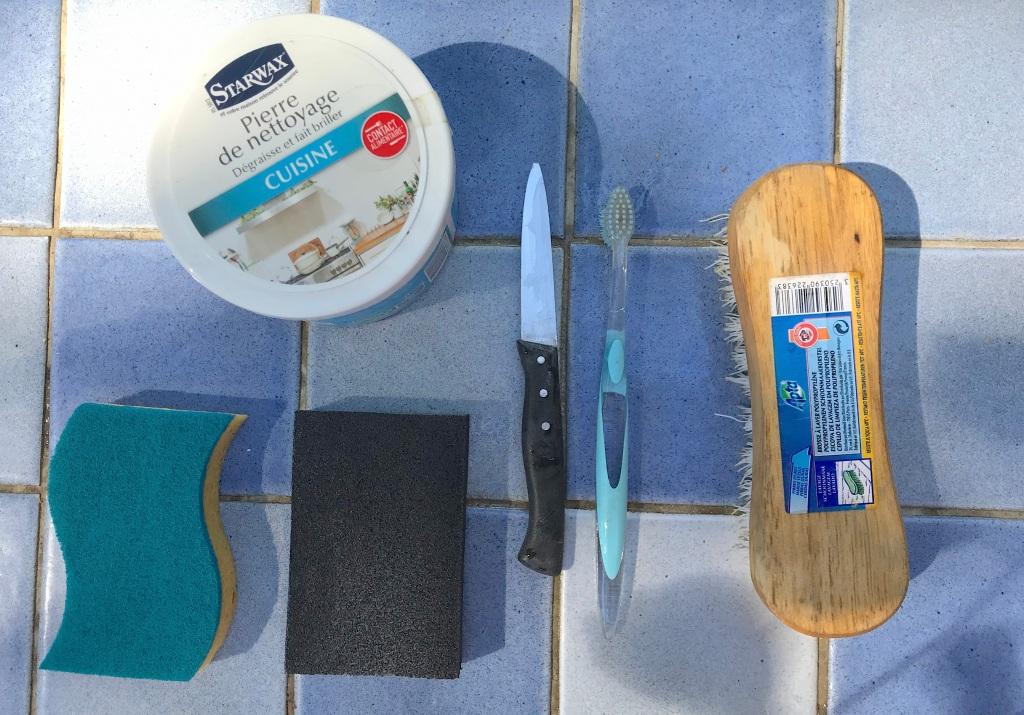 Fournitures pour le nettoyage