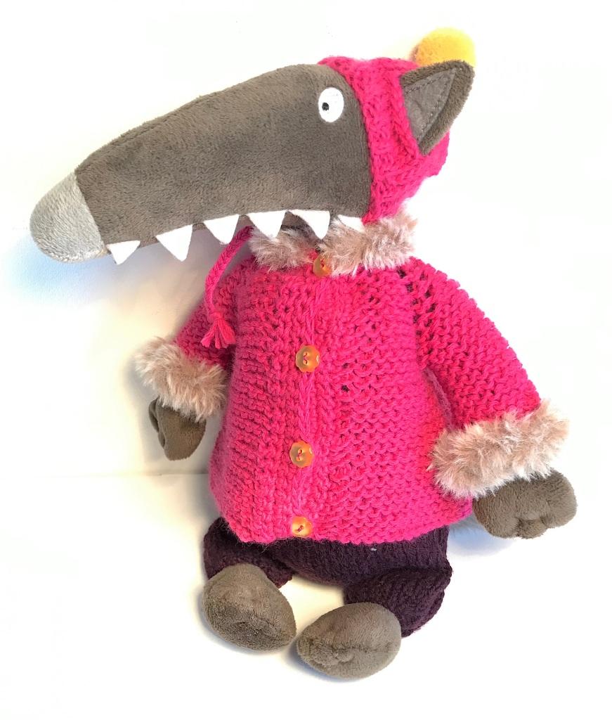 Petit Loup en tenue complète