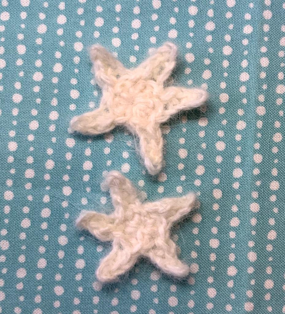 Les deux étoiles terminées