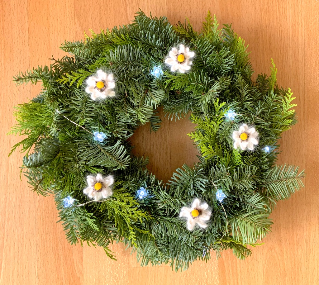 Couronne aux edelweiss