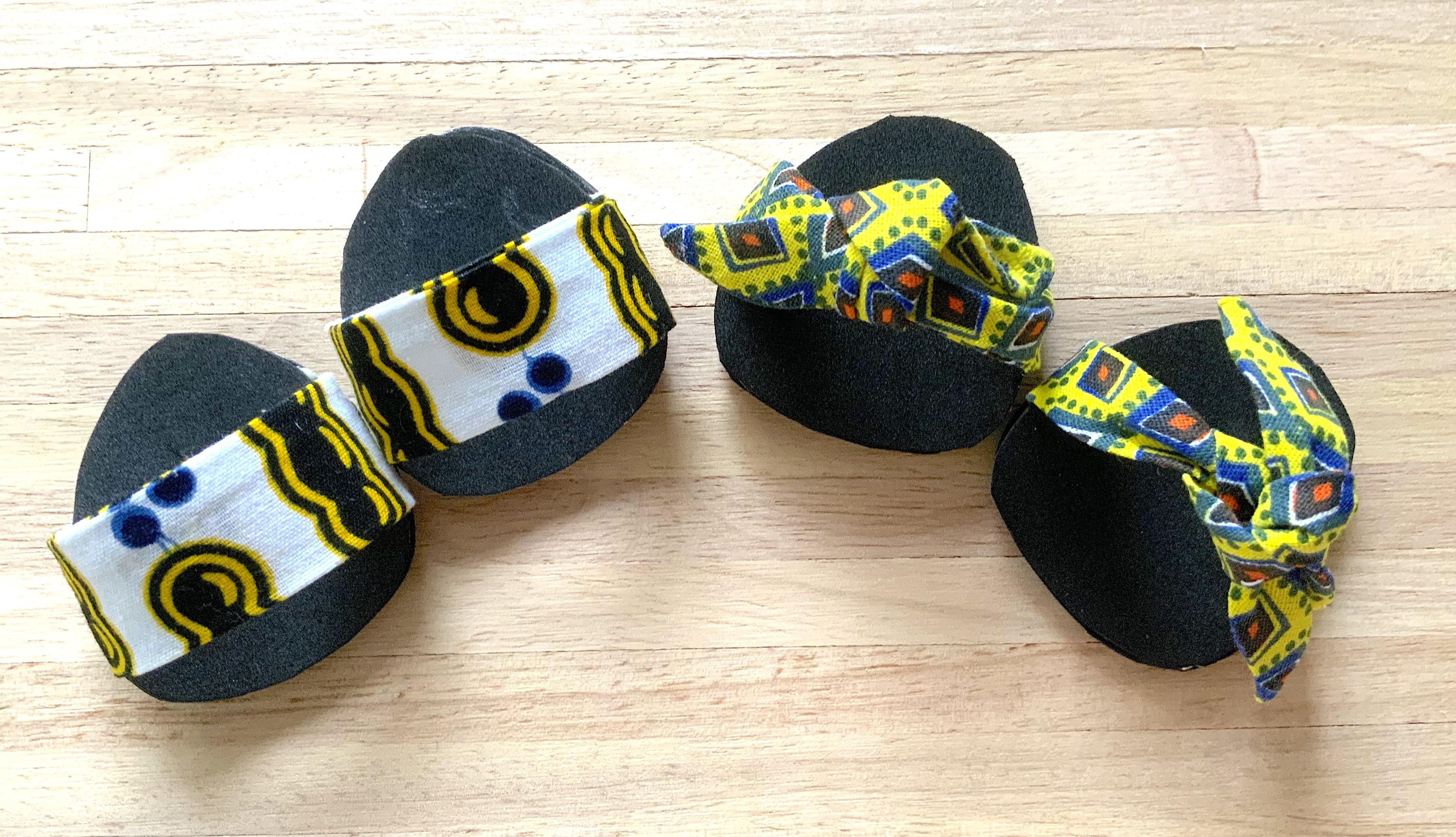 Sandales finies